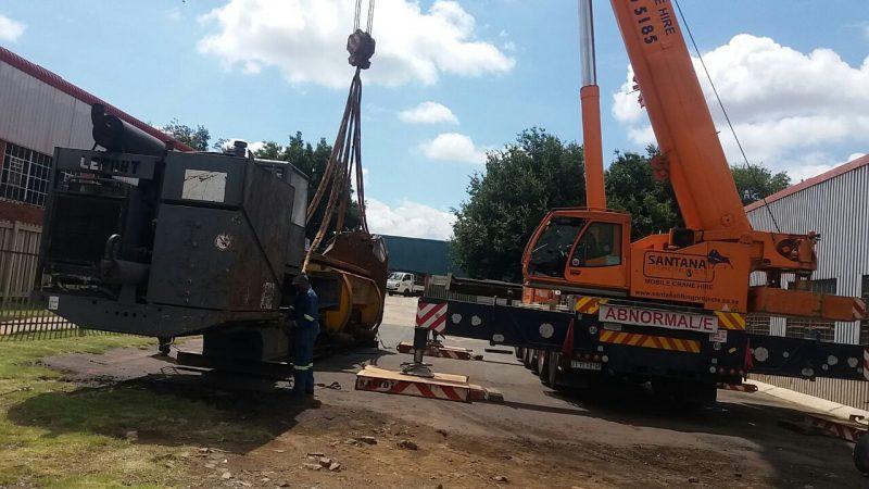 P&L Machine Moving and Rigging Crane Hire