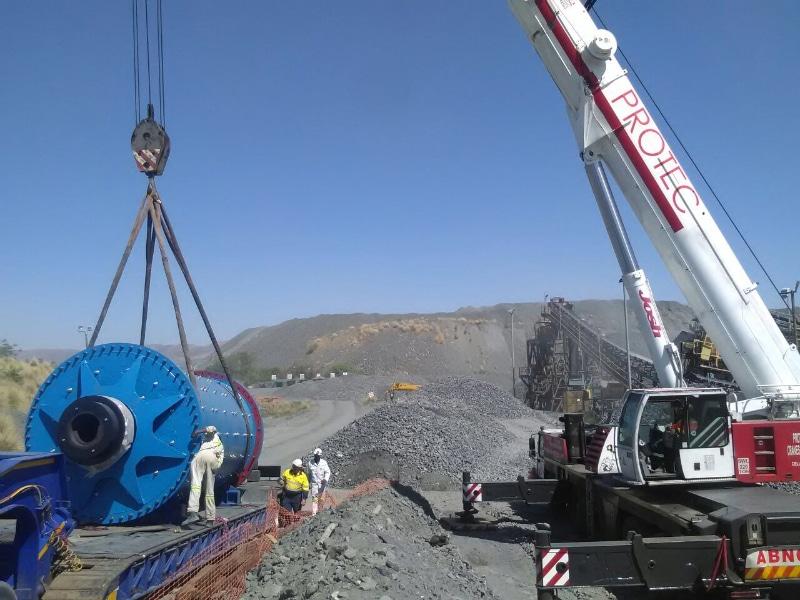 cranage - p&l machine moving and rigging