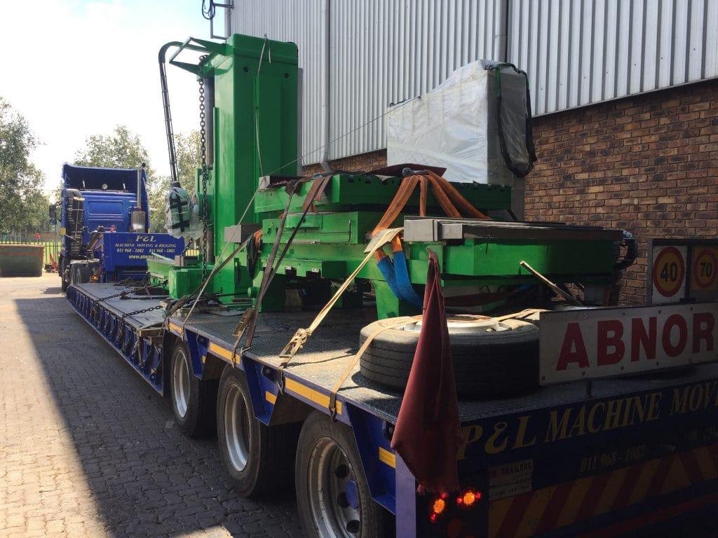 Abnormal Loads - P&L Machine Moving & Rigging