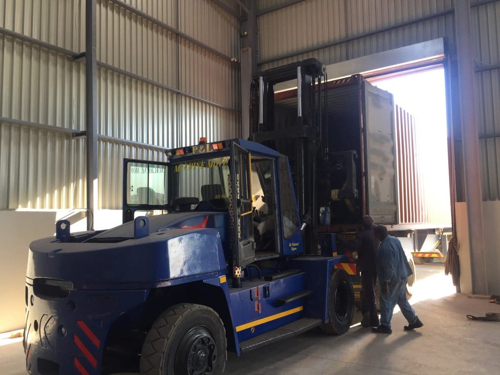 Warehousing Solutions - P&L Machine Moving and Rigging 3