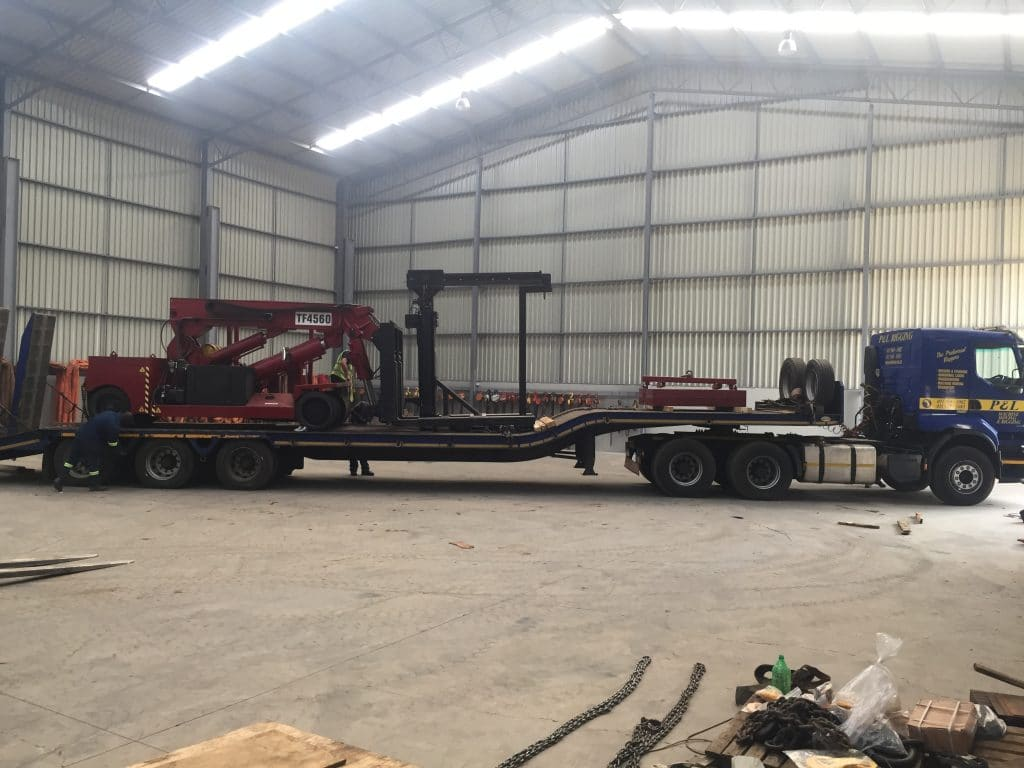 Warehousing Solutions - P&L Machine Moving and Rigging 1