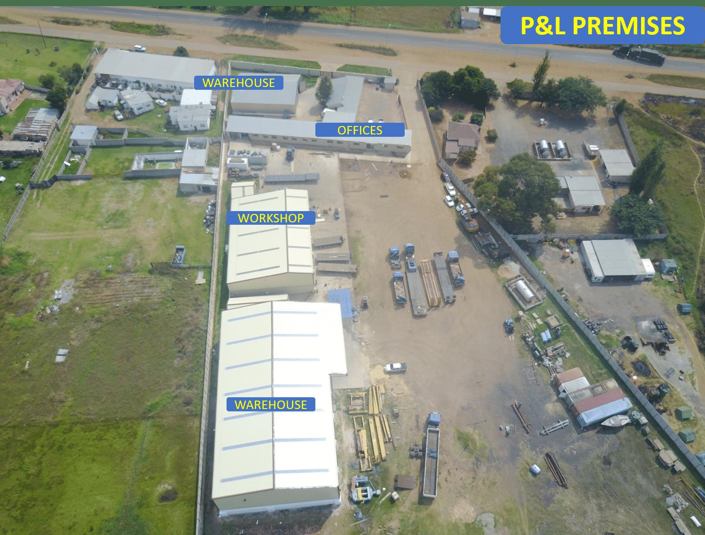 P&L Premises - Aerial View