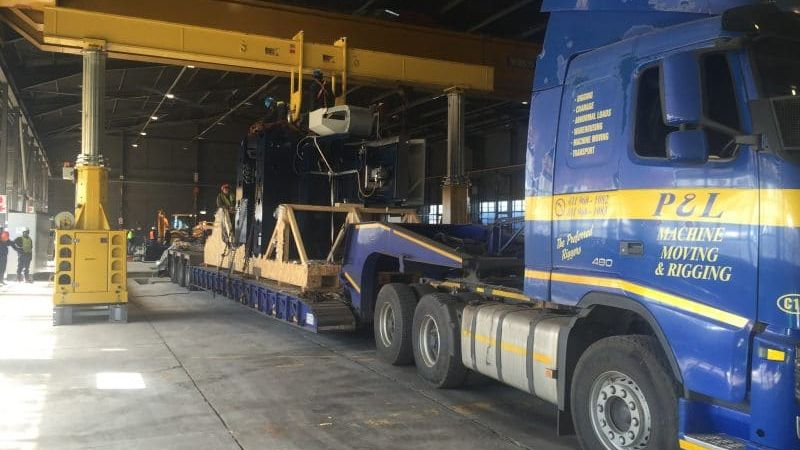 alternative lifting - p&l machine moving and rigging