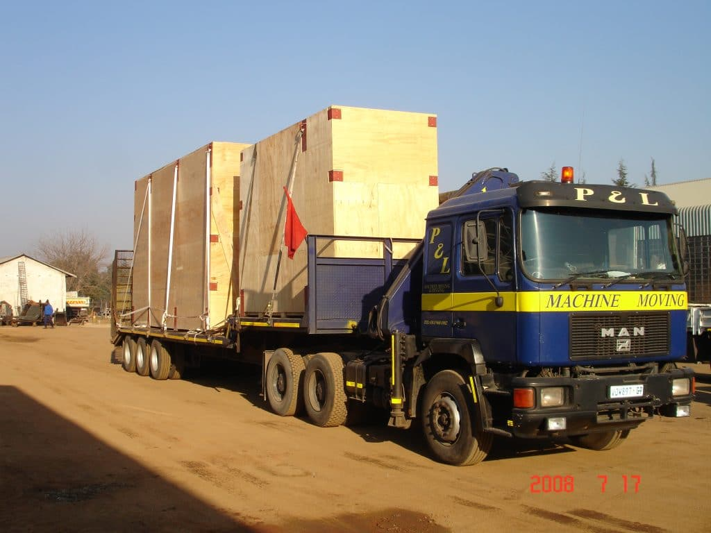 Crating & Packing Solutions - P&L Machine Moving & Rigging