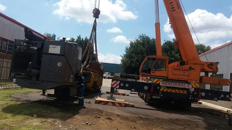 P&L Machine Moving and Rigging Crane Hire