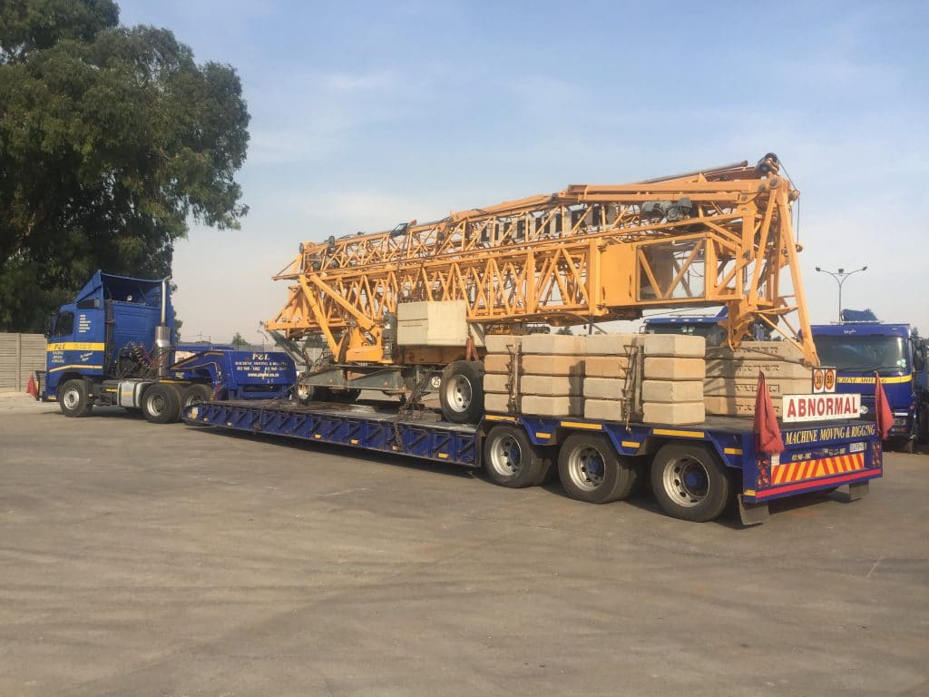 Abnormal Loads - P&L Machine Moving & Rigging