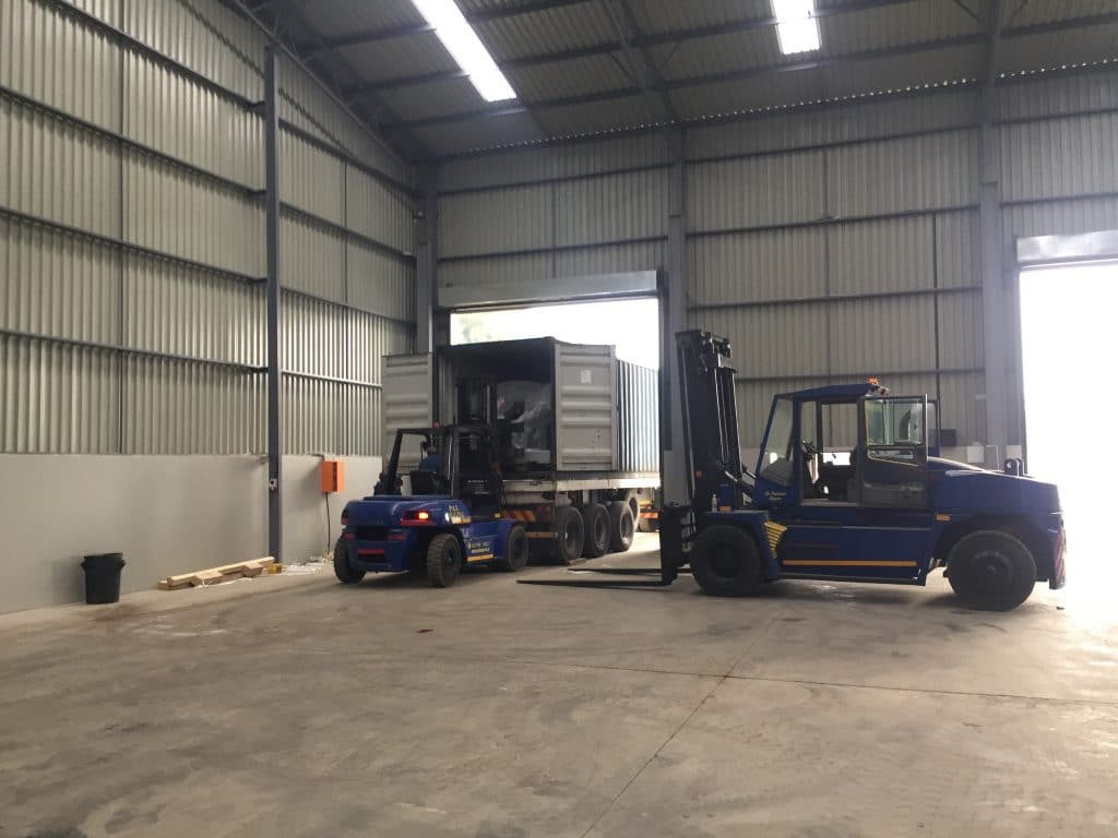 Warehousing Solutions - P&L Machine Moving and Rigging 2