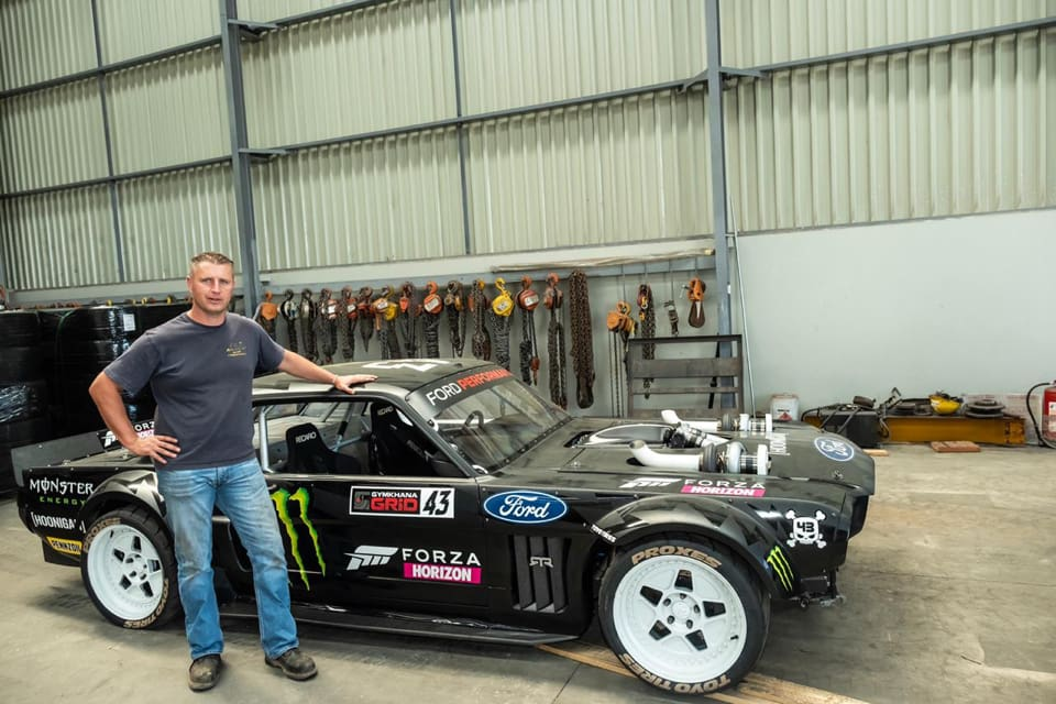 Transporting Ken Blocks Hoonigan vehicle